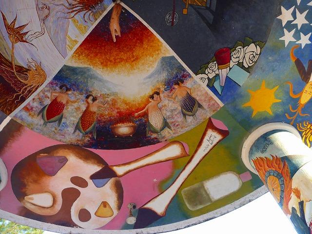 コマラパの壁画(グアテマラ)