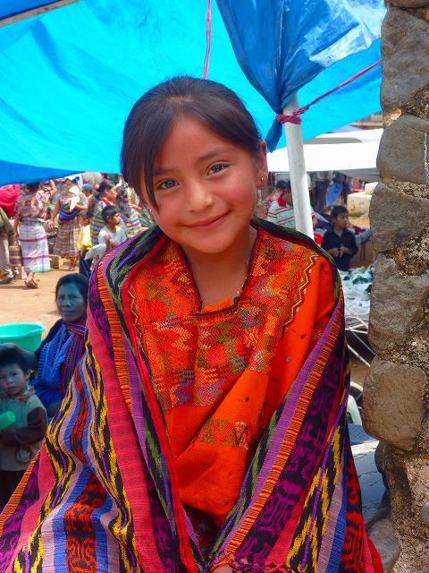 住んでいた街の女の子(グアテマラ)