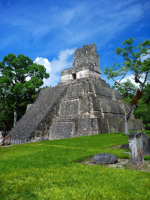 ティカル遺跡(グアテマラ)