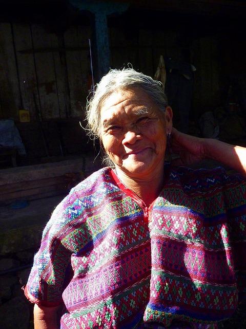 お世話になったおばあちゃん(グアテマラ)