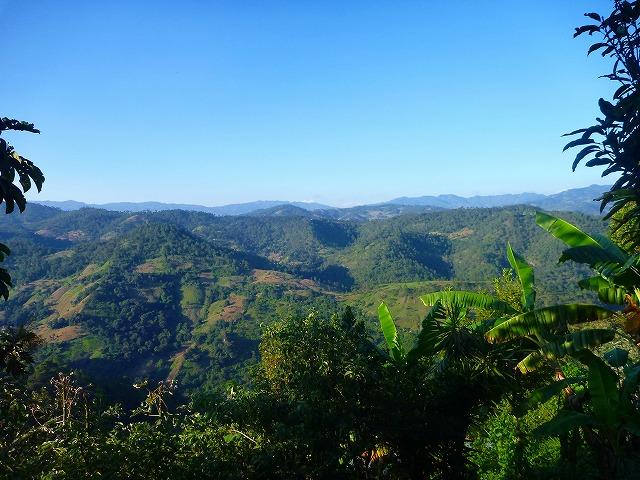 田舎の風景(グアテマラ)